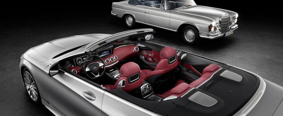 Mercedes ne ademeneste cu o noua fotografie a S-Class-ului Cabriolet