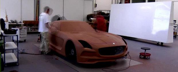 Mercedes ne arata cum ia nastere noul SLS AMG Black Series. VIDEO AICI!