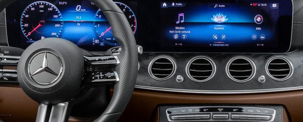 Mercedes ne arata de azi interiorul masinii pe care o va lansa saptamana viitoare. FOTO