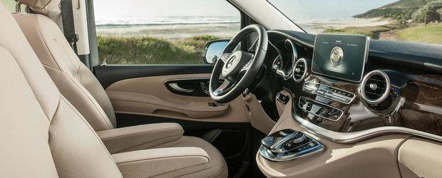 Mercedes ne arata de ce noul V-Class este cel mai tare MPV al momentului