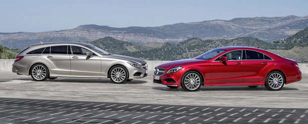 Mercedes ne face cunostinta cu noul CLS Facelift