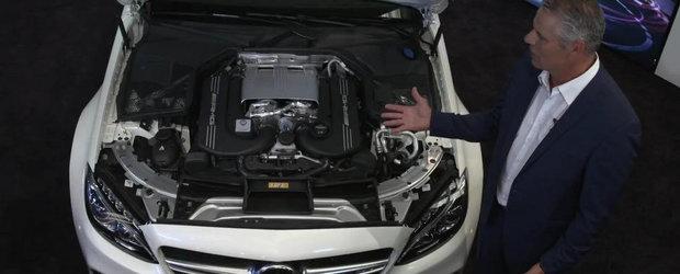 Mercedes ne face turul noului sau C63 AMG Coupe