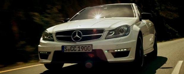 Mercedes ne ofera un nou video incitant cu al sau C63 AMG Coupe