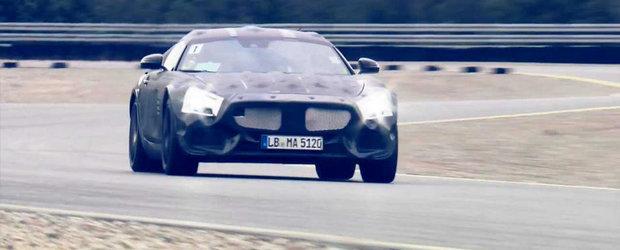 Mercedes ne poveste despre cum noul AMG GT isi va invinge rivalii