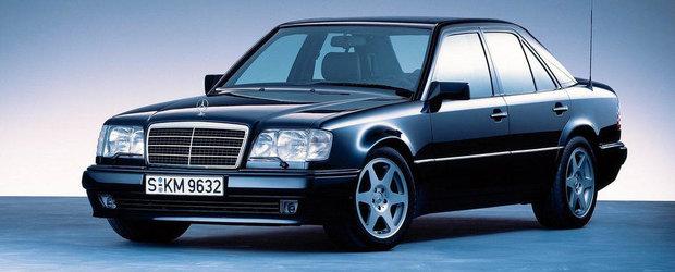 Mercedes ne reaminteste de gloriosul sau 500 E