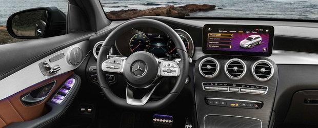 Mercedes nu a mai asteptat Salonul de la Geneva. A publicat acum toate pozele cu noua sa masina