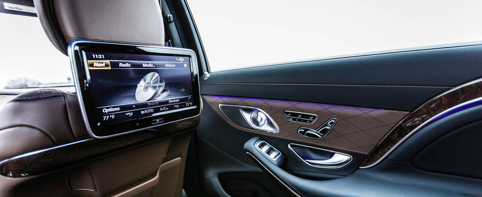 Mercedes nu se mai gandeste la Audi si BMW; vrea sa bata Bentley si Rolls-Royce. Ce dotari de lux pregatesc germanii
