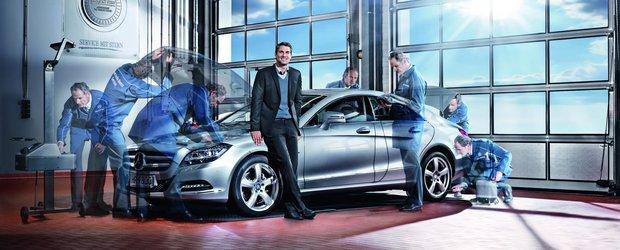 Mercedes ofere testul gratuit de lumini pentru toate autovehiculele marcii