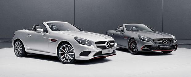 Mercedes pregateste decapotabilele pentru vara. SLC si SL primesc cate o editie speciala