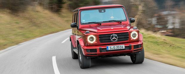 Mercedes pregateste o noua versiune pentru G-CLASS. Anuntul oficial urmeaza sa fie facut