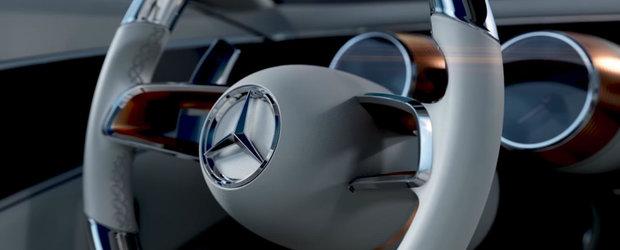 Mercedes pregateste o surpriza de proportii. Ce sa fie misterioasa masina din acest VIDEO?