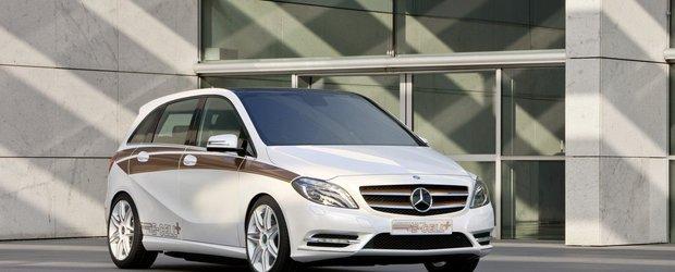 Mercedes pregateste versiunea electrica a noului B-Class