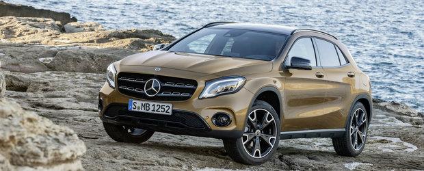 Mercedes prezinta GLA-ul facelift la Detroit