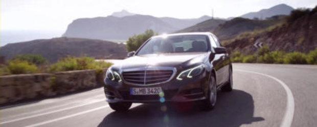 Mercedes prezinta in actiune si detaliu noua generatie E-Class