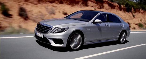 Mercedes prezinta in actiune si detaliu noul S63 AMG