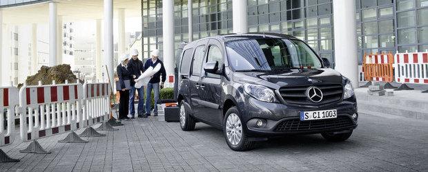 Mercedes prezinta in toamna van-ul Citan