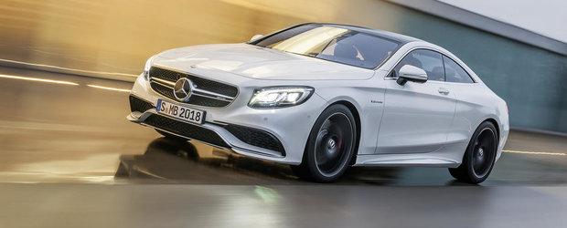 Mercedes prezinta noul S63 AMG Coupe. GALERIE FOTO in ARTICOL