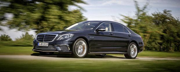 Mercedes prezinta noul S65 AMG. GALERIE FOTO si VIDEO in articol.