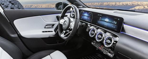Mercedes prezinta oficial noul A-Class. Uite cum arata cel mai ieftin model al nemtilor!