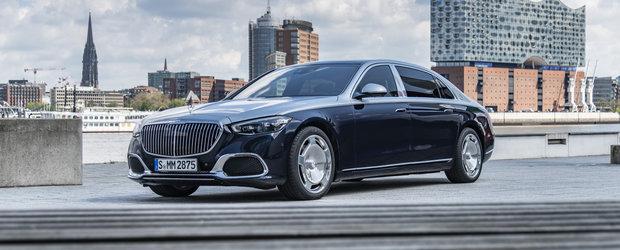 Mercedes prezinta oficial noul REGE al limuzinelor de lux. Acesta este noul Mercedes-MAYBACH S-Class! Galerie FOTO completa