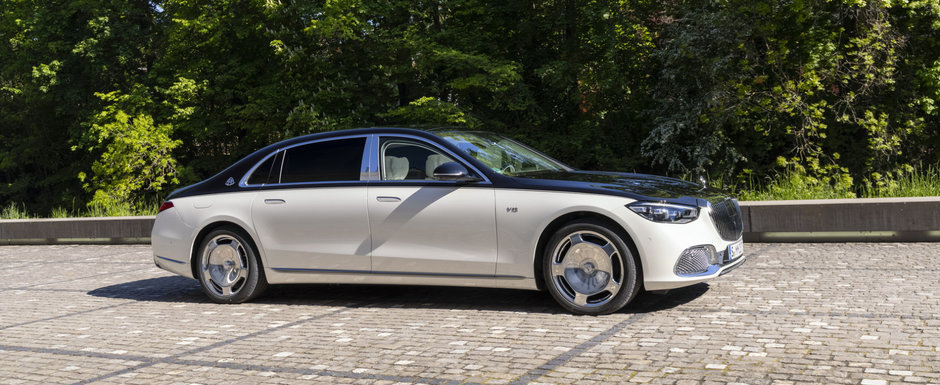 Mercedes prezinta oficial noul REGE al limuzinelor de lux. Acesta este noul Mercedes-MAYBACH S-Class! Cat COSTA in Romania