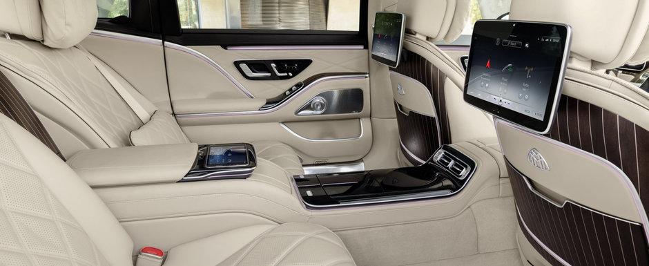 Mercedes prezinta oficial noul REGE al limuzinelor de lux. Acesta este noul Mercedes-MAYBACH S 680 4MATIC! CAT COSTA in Romania