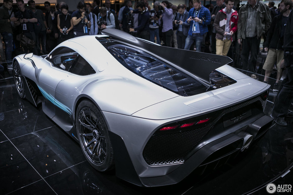 Mercedes Project One - Poze reale
