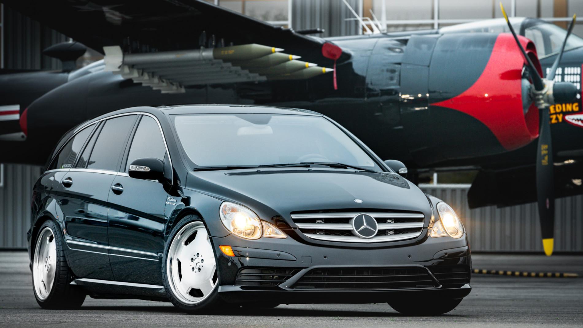 Mercedes R63 AMG de 700 CP - Mercedes R63 AMG de 700 CP