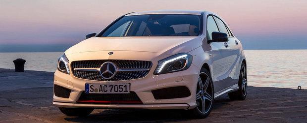 Mercedes recheama in service noul A-Klasse pentru probleme la airbag