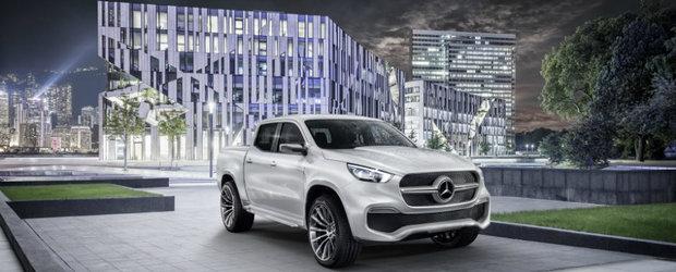 Mercedes redefineste pick-up-ul cu noua Clasa X. Uite ce au declarat nemtii despre acesta