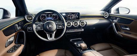 Mercedes ridica inca o data stacheta. Nemtii au publicat primele imagini oficiale cu interiorul noului A-Class