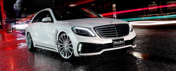 Mercedes S-Class Black Bison, un proiect de tuning care iti fura privirea