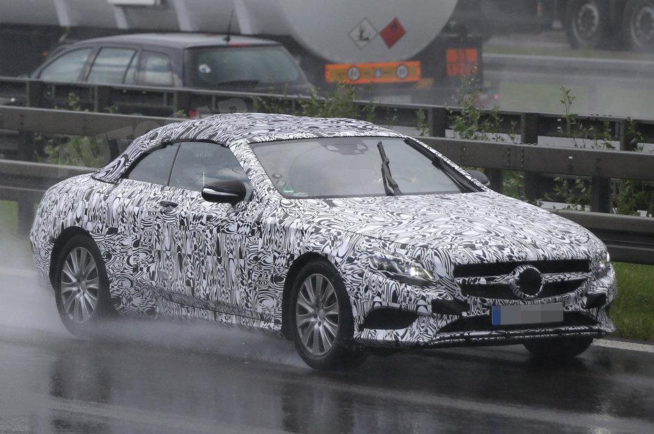 Mercedes S-Class Cabriolet - Poze Spion