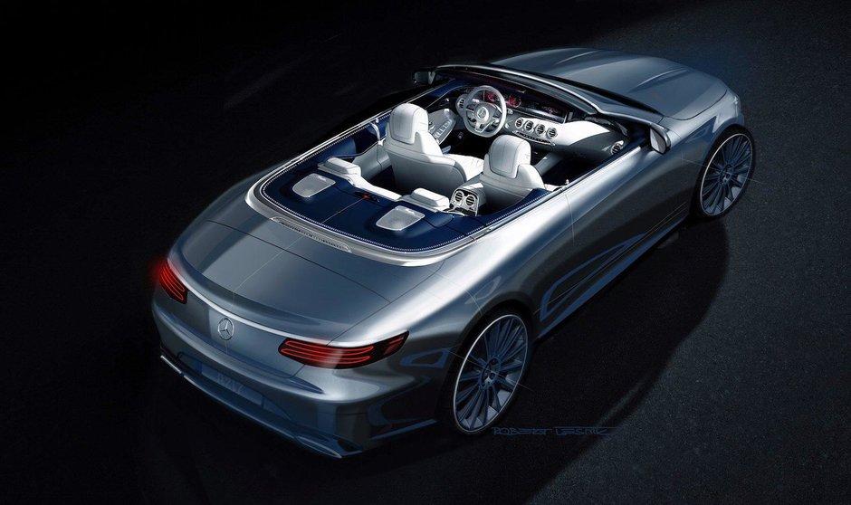 Mercedes S-Class Cabriolet - Prima poza