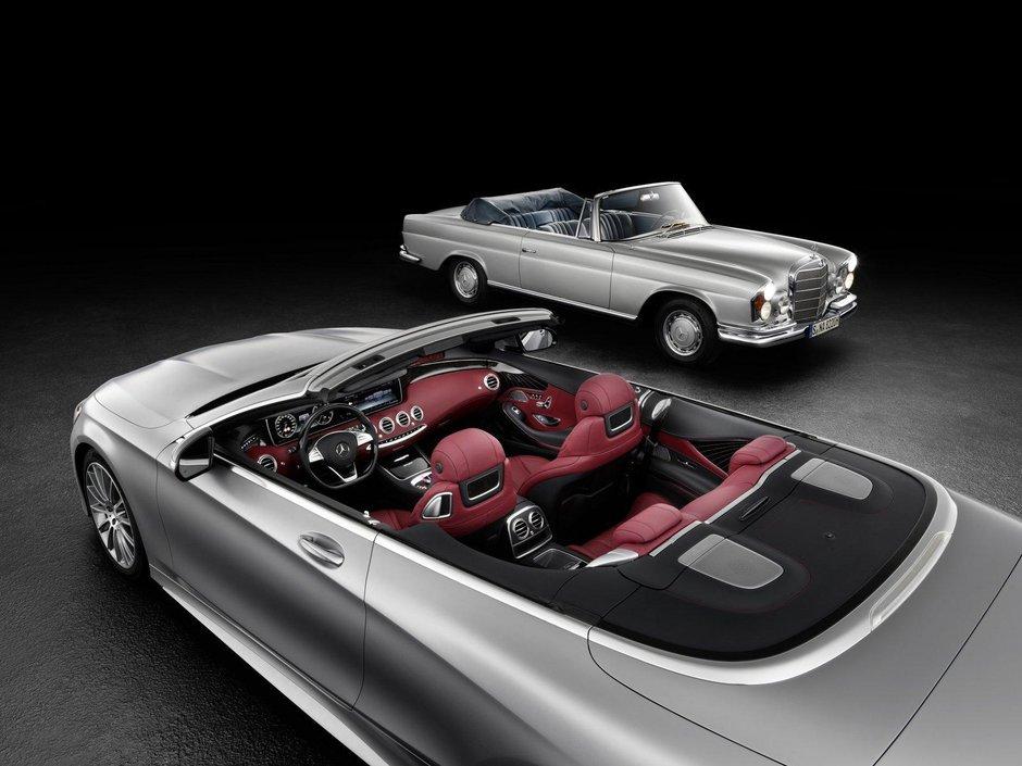 Mercedes S-Class Cabriolet - Teaserul 2