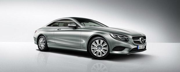 Mercedes S-Class Coupe se innoieste cu un V6 bi-turbo de 367 CP