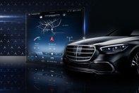 Mercedes S-Class - Poza interior