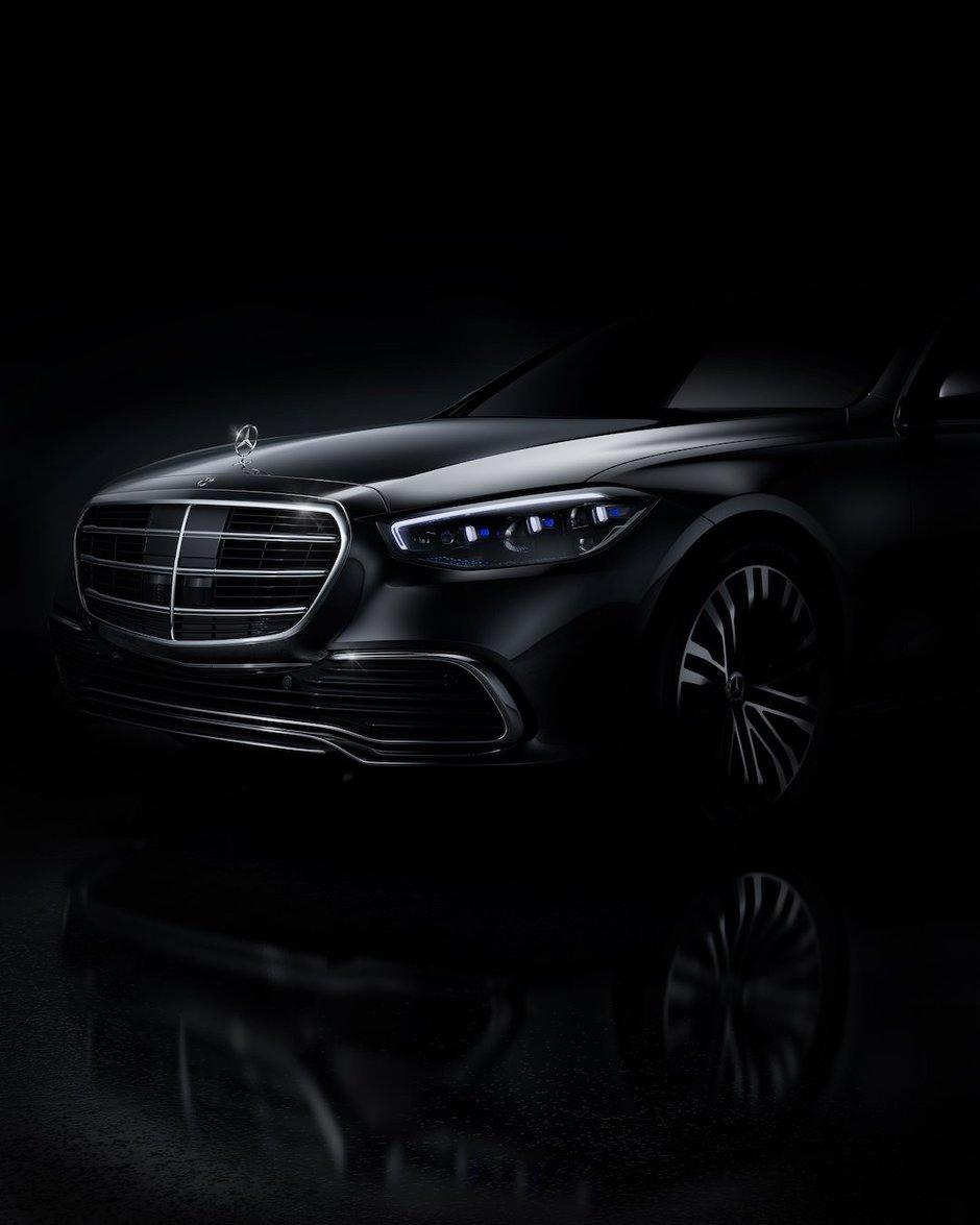 Mercedes S-Class - Prima poza