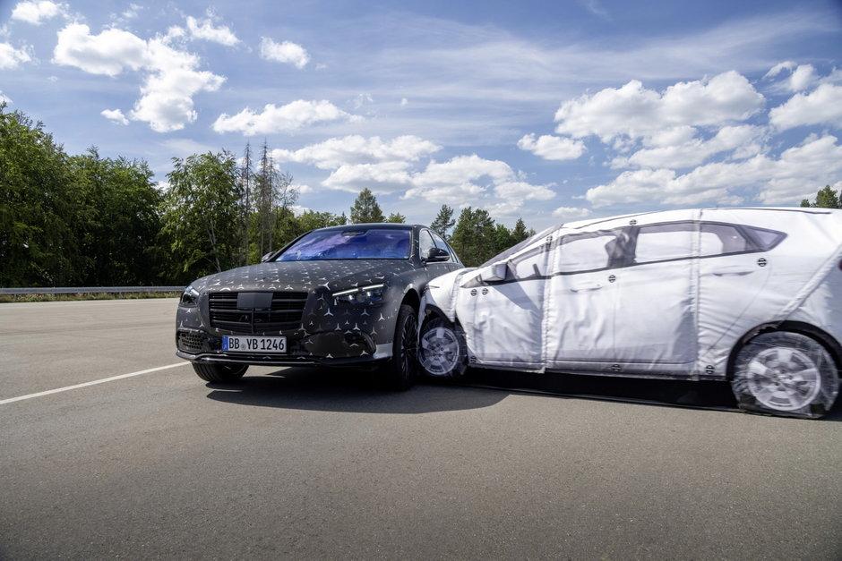 Mercedes S-Class: Primele poze