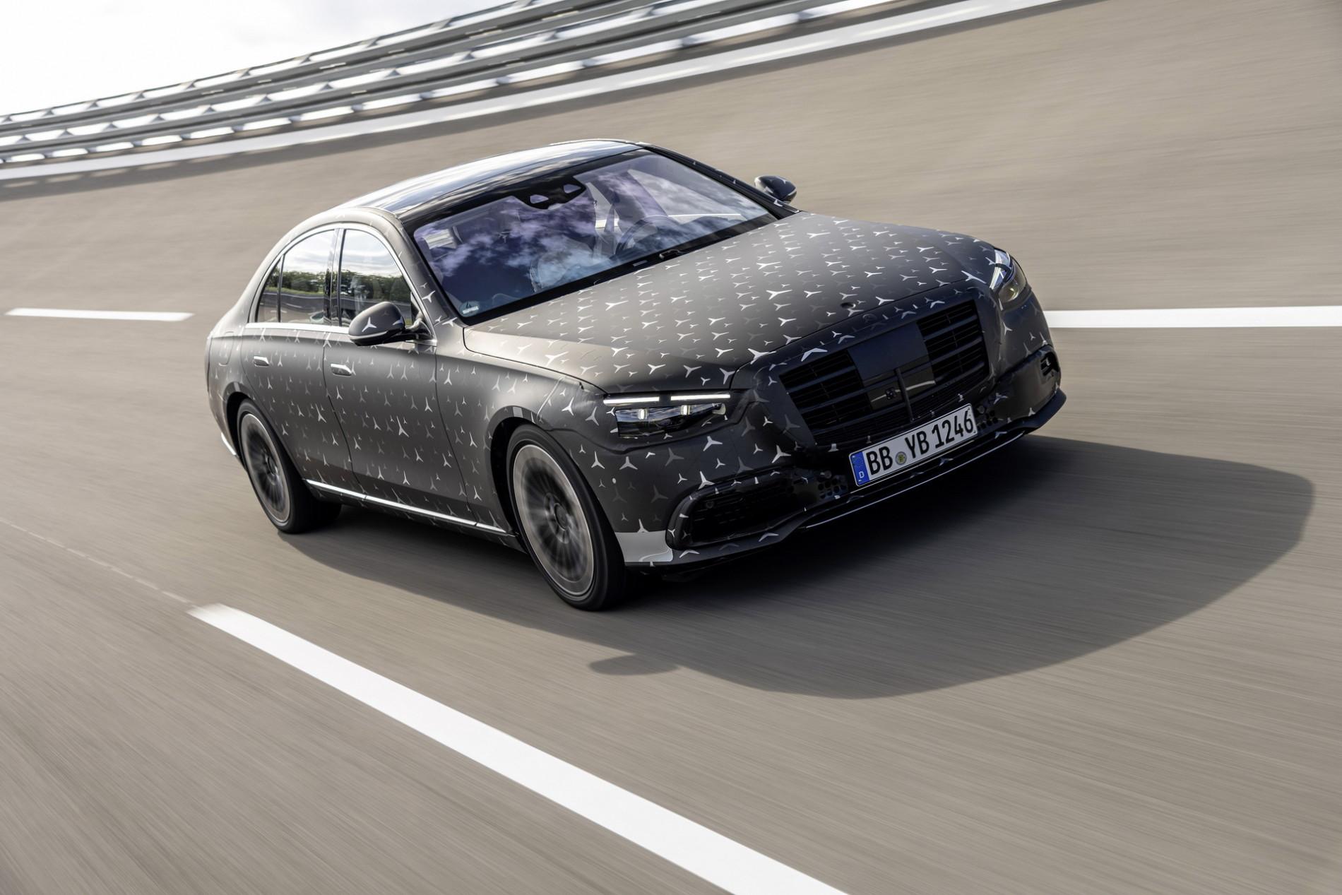 Mercedes S-Class: Primele poze - Mercedes S-Class: Primele poze
