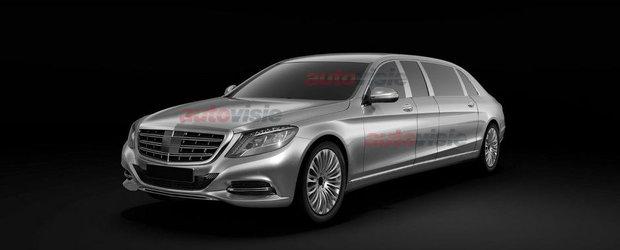 Mercedes S-Class Pullman: Primele imagini ale limuzinei de 1+ milioane euro