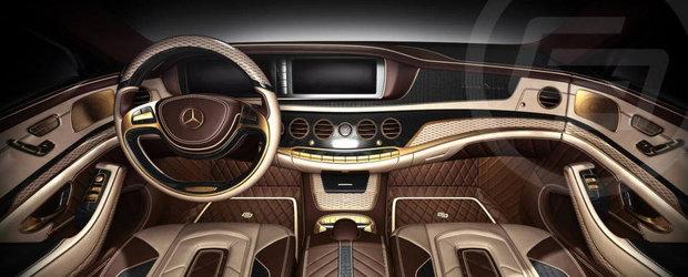 Mercedes S-Class W222 by Carlex: Dovada ca banii nu pot cumpara bunul gust