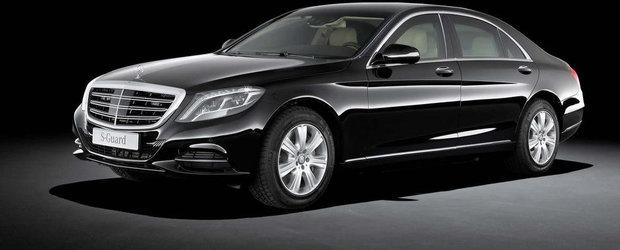 Mercedes S600 Guard: Confort si protectie la cel mai inalt nivel