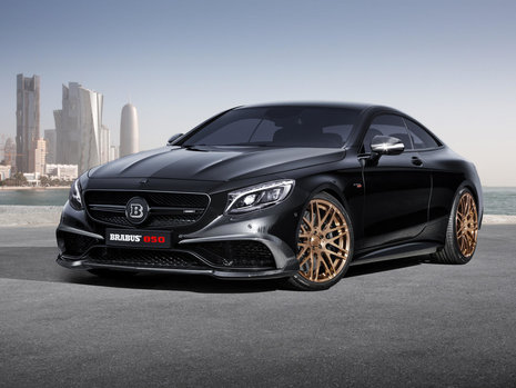 Mercedes S63 AMG Coupe by Brabus