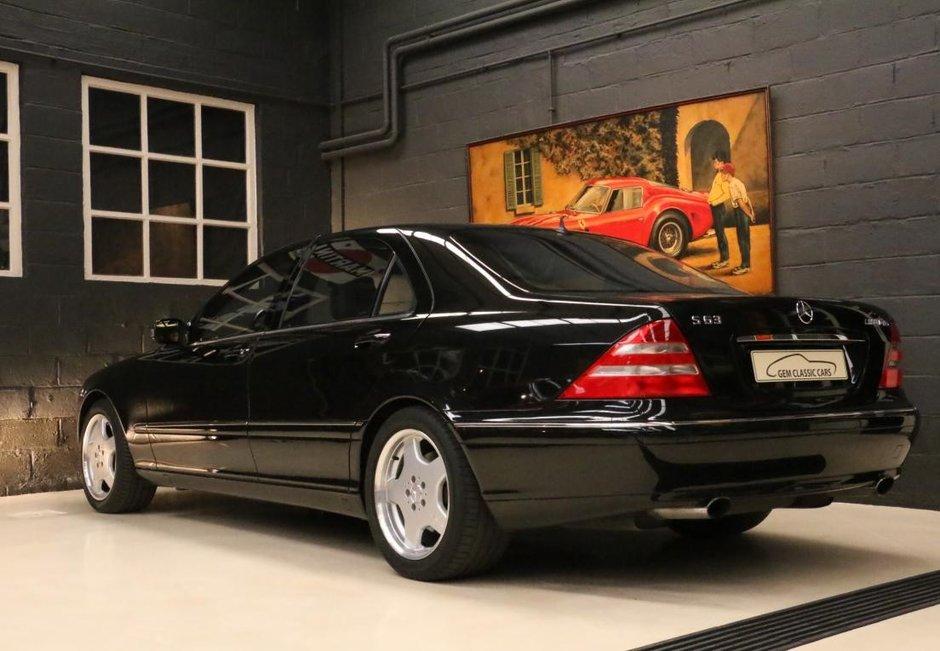 Mercedes S63 AMG W220 de vanzare
