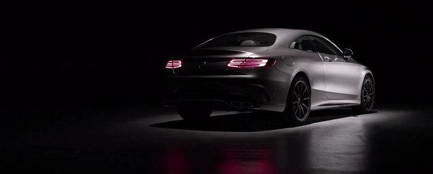 Mercedes S63 Coupe ne dezvaluie liniile si formele sale intr-un nou promo