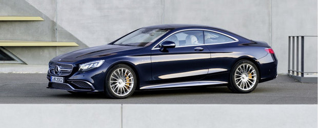 Mercedes S65 AMG Coupe: 630 cai putere si 244.000+ euro