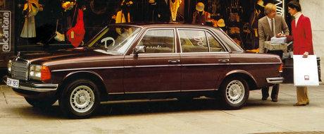 Mercedes sarbatoreste patru decenii de la nasterea legendarului W123