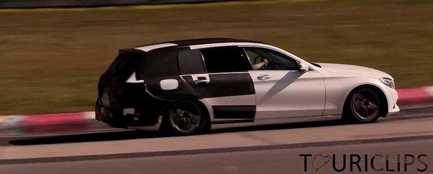 Mercedes scoate in teste versiunea Break a noului C-Class