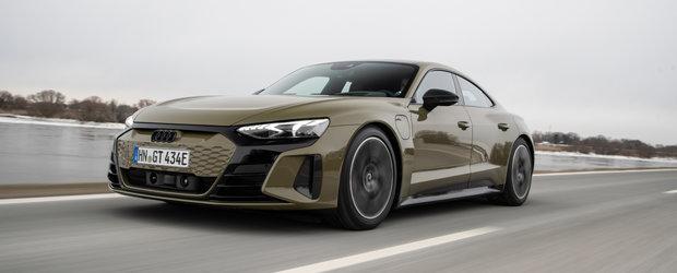 Mercedes si BMW au dat de belea. Noua masina de la Audi e un super-sedan cu platforma si motor de Porsche. Galerie foto completa